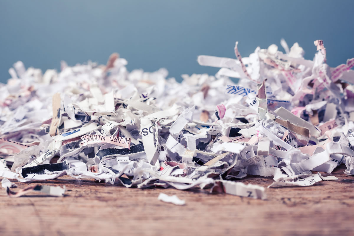 Can I Recycle My Shredded Documents?